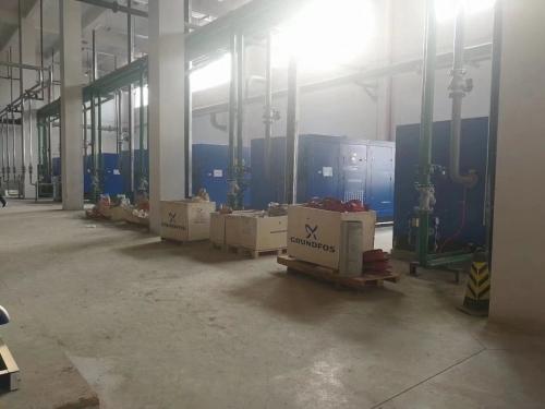郑州某纺织厂客户
