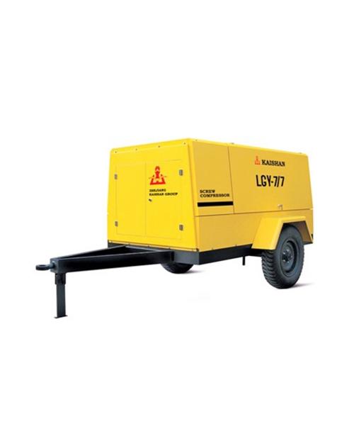LG电动移动螺杆空压机